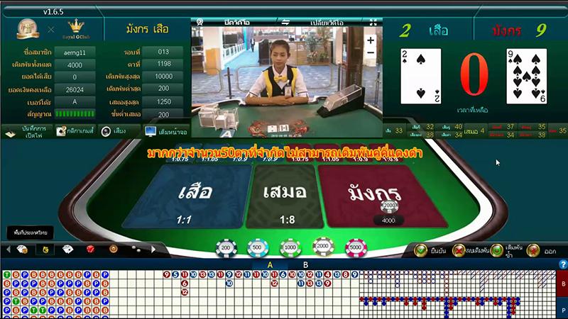 แนะนำแนวทางการเล่นเกมไพ่เสือมังกรออนไลน์
